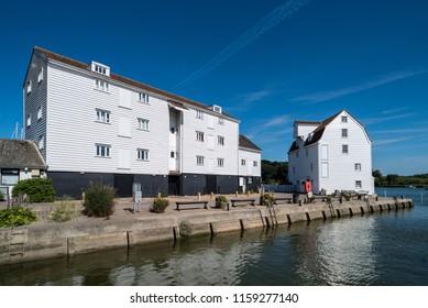 Woodbridge Tide Mill on the River Deben in England