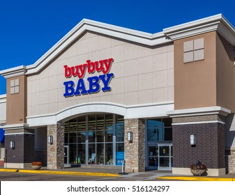WOODBURY, MN/USA - NOVEMBER 13, 2016: Buy Buy Baby retail store. Buy Buy Babyis a chain of stores that sell clothing, strollers and other items for use with infants and young children.