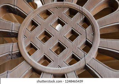 Wooden abstract building