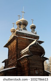 the wooden architecture of Russia, Malie Karely