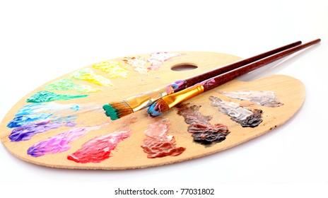 Paint Palette Images Stock Photos Vectors Shutterstock