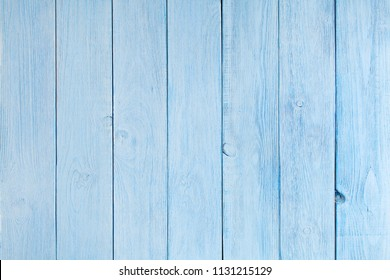 wooden background of blue boards folded vertically