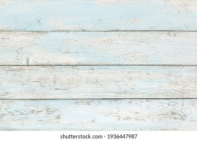 Wooden background. Blue colores distressed weathered wood texture