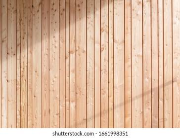 Wooden background, brown vertical slats,