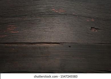 wooden background. Empty  wooden background. Wood texture, vignette