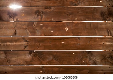 wooden background with holes from bullets