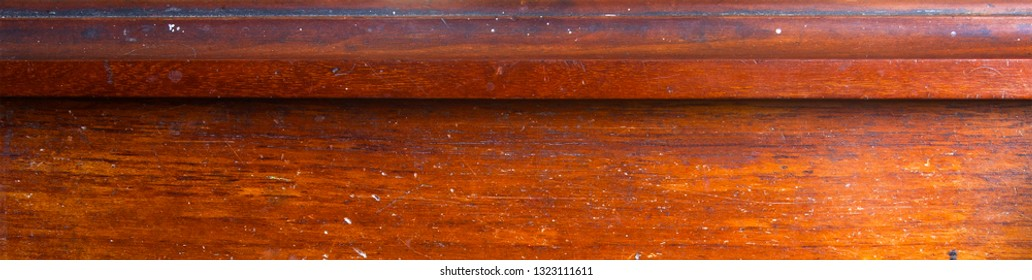 Wooden background panorama.