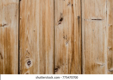 Wooden background. Vintage facade of a wooden house.