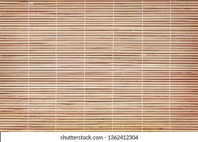 Wooden bamboo blind texture background
