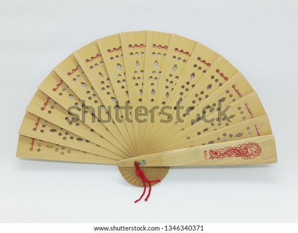 Japanese Chinese Hand Fan Folding Silk Bamboo Retro Printing Wedding Party Gift