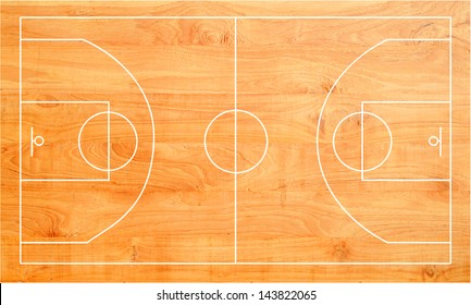 Basketball Floor Stock Photos Images Photography Shutterstock