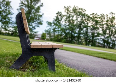 Bench Side View Isolated Stock Photos Images Photography