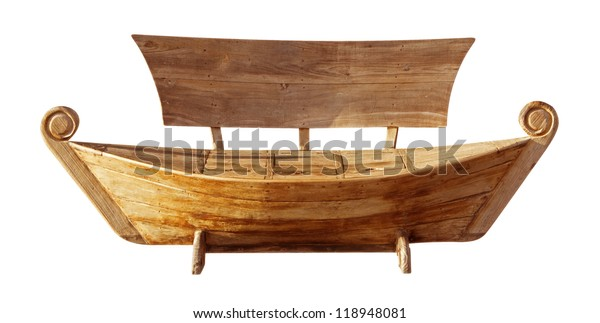 Remarkable Wooden Bench Style Boat Clipping Path Stock Photo Edit Now Evergreenethics Interior Chair Design Evergreenethicsorg