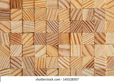 wooden blocks stacked for background or texture macro studio shot