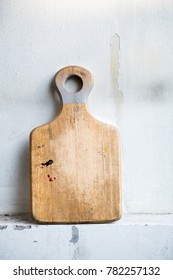 wooden board isolated