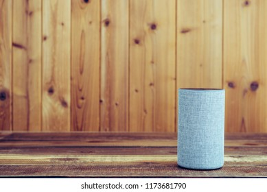 Wooden board and smart speaker