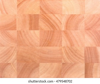 Wooden board for work out kitchen.