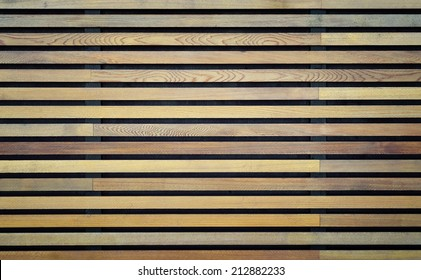 Wooden boards background, horizontal strips
