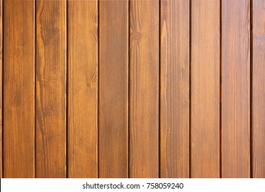 wooden boards painted in brown color