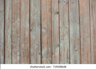 wooden boards, texture of old painted boards, old paint on boards