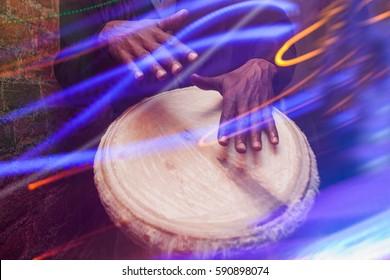 Wooden Bongo