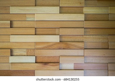 Wooden brick surface material texture for background