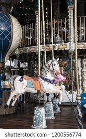 Wooden Carousel in France
