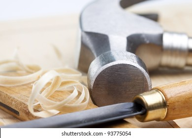 Wooden carving tools