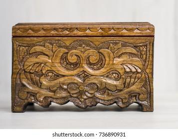 wooden casket, tree, textures, hand tools