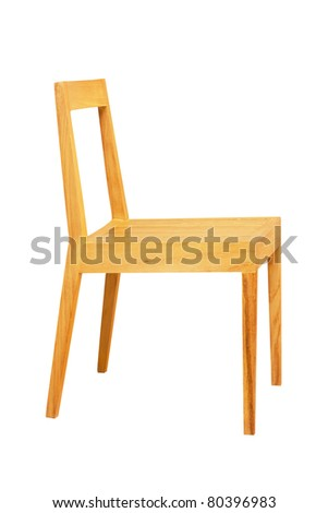 Wooden chair side Fancy Chair Wooden Chair Side View Isolated On White Shutterstock Wooden Chair Side View Isolated On Stock Photo edit Now 80396983