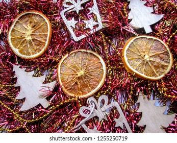 Christmas Potpourri Dried Orange Slices Stock Photo Edit Now