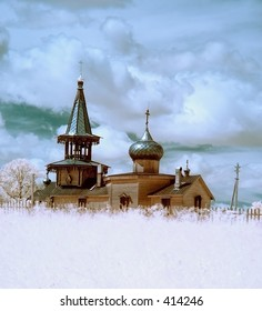 Wooden church [#4453]