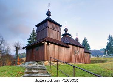 Wooden church, Korejovce, Slovakia