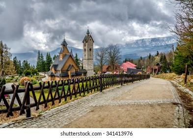 Wooden Church Wang in Karpacz
