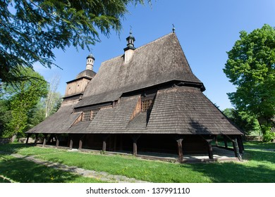 Wooden Church from XVI Century in Sekowa, Poland
