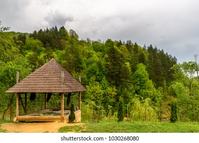 Wooden churches of Maramures Transylvania, Romania. UNESCO World Heritage
