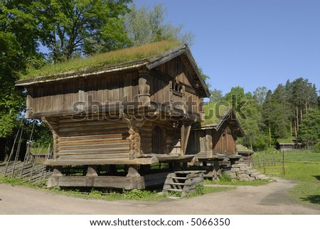 Tremendous Wooden Cottages Oslo Norway Stock Photo Edit Now 5066350 Interior Design Ideas Clesiryabchikinfo