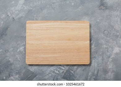 Wooden cutting board. For cooking food. Kitchen accessories. For your design. isolated.