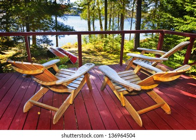 Astounding Chairs By Lake Images Stock Photos Vectors Shutterstock Bralicious Painted Fabric Chair Ideas Braliciousco