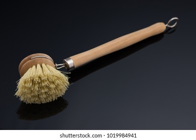 Wooden Dish Brush Washing , Traditional Wood Scrubbing Brush