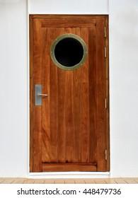 Wooden Door with porthole on ship & Boat Door Images Stock Photos u0026 Vectors | Shutterstock