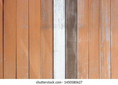 Wooden exterior wall. Background, texture