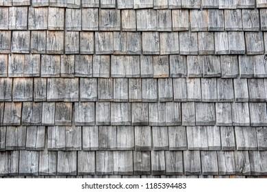 wooden facade cover