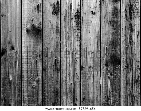 Foto De Stock Sobre Wooden Fence Wood Background Wood Nature