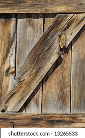 Wooden fencing - detail