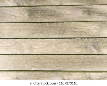 Wooden floor boards. Old wooden background painted by protective transparent paint with cracks