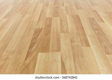 Wooden floor close up background.