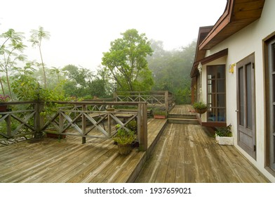 Wooden floor and house style
