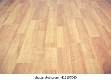 Wooden floor surface background.(Processed in vintage colour tone)