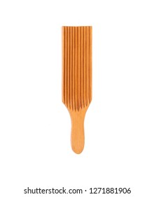 Wooden Gnocchi board, wooden fork for cooking italian gnocchi